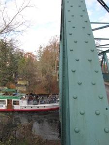 Ein letzter Herbstausflug mit dem Schiff nach Woltersdorf...