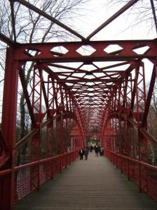 Tegeler Hafenbrücke-Fußgängerbrücke