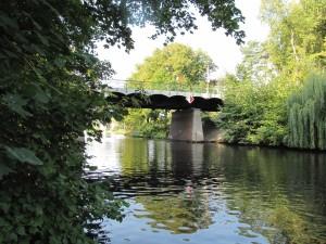Ansicht Alsenbrücke
