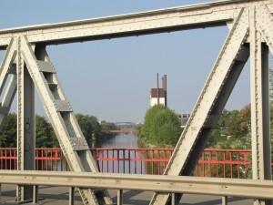 Baumschulenbrücke-Blick zum Teltowkanal