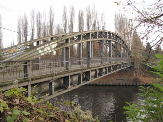 Mariendorfer Brücke-Fußgängerbrücke über den Teltowkanal