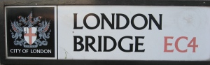 ponton-Londonbridge Schild