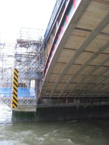 Unterkonstruktion Blackfriars