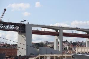 ponton-Vorlandbrücken