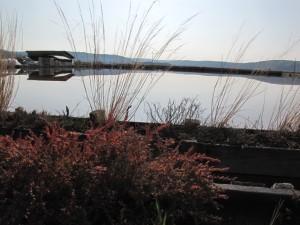ponton-Naturpark Salinen von Secovlje
