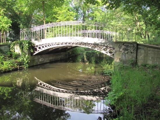 Gusseiserne Brücke im Schlosspark Charlottenburg