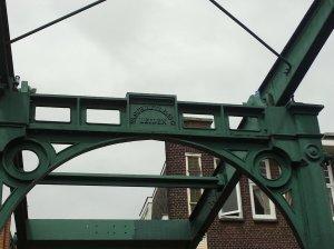 Name der Gießerei im Brückenportal