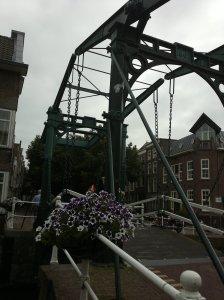 Ansicht der Kerkbrug vom Südufer aus.